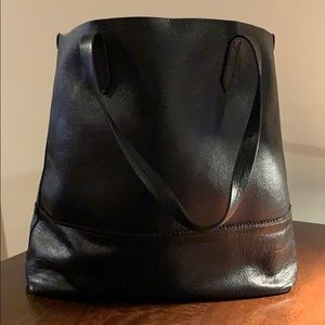 J. Crew Leather Tote